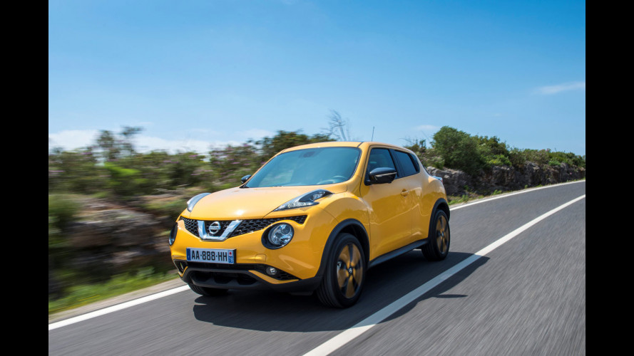 Nissan Juke restyling: diversa, piccola e divertente [VIDEO]