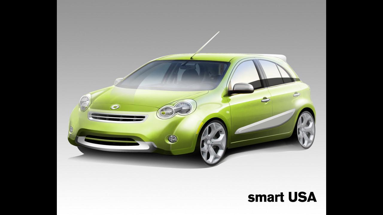 La smart-Nissan segmento B per gli USA
