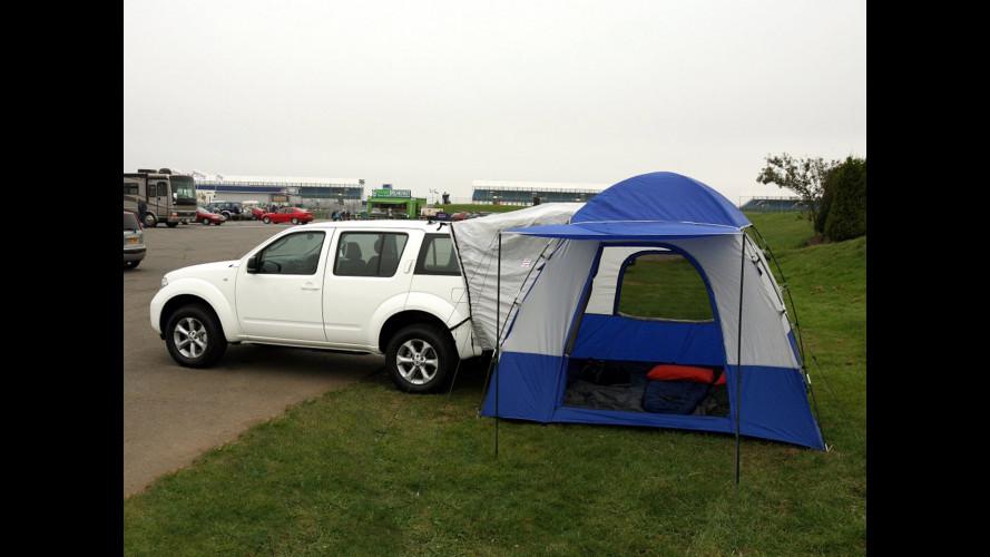 I SUV Nissan vanno in campeggio