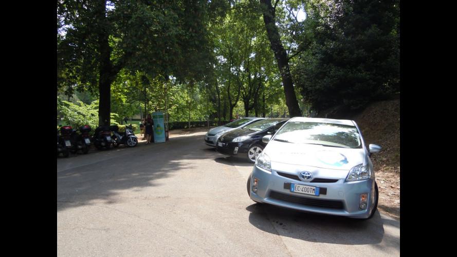 Toyota riqualifica Villa Borghese