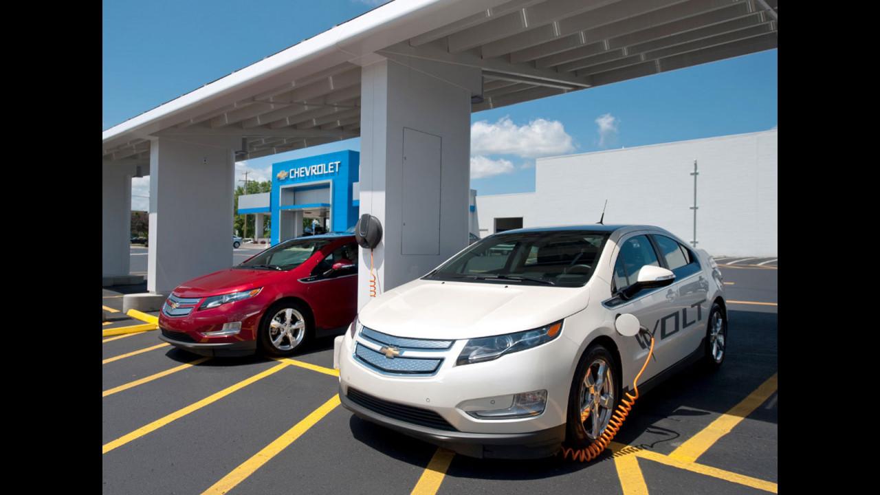 Chevrolet Volt - Stazione di ricarica Green Zone