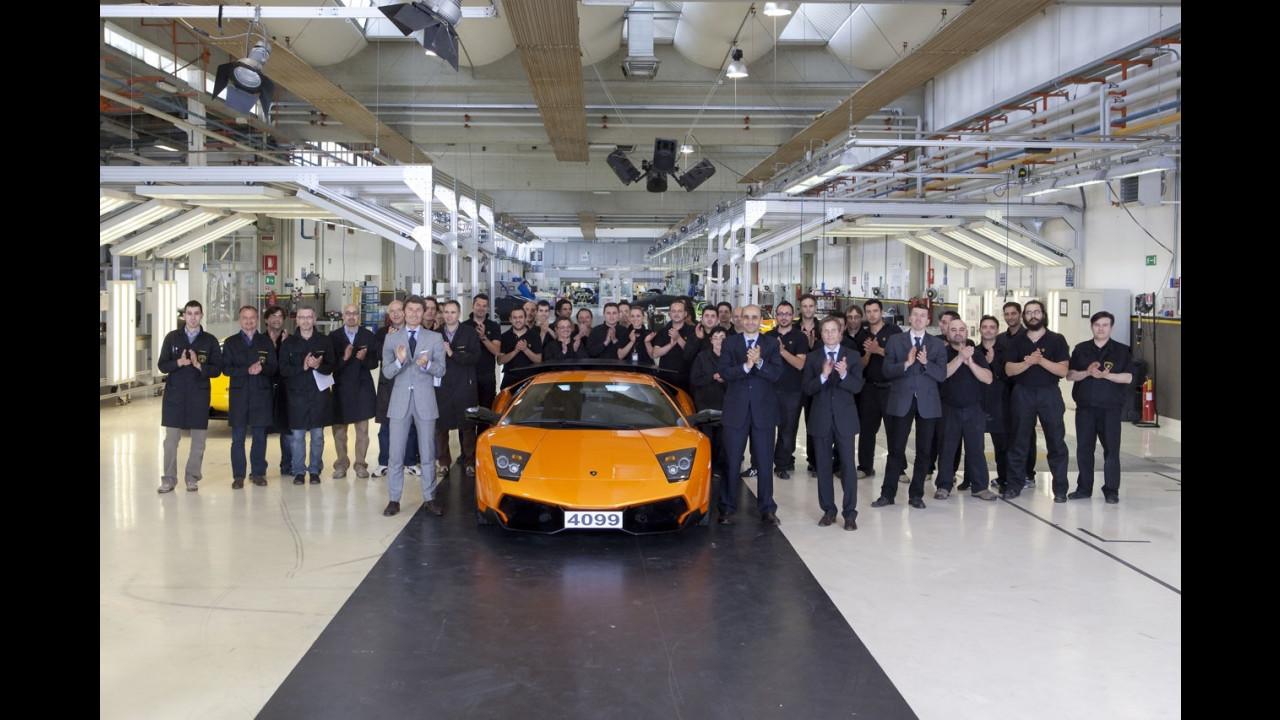 L'ultima Lamborghini Murcielago