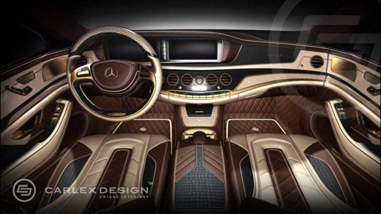 [Copertina] - Mercedes Classe S, lussosi interni firmati Carlex Design