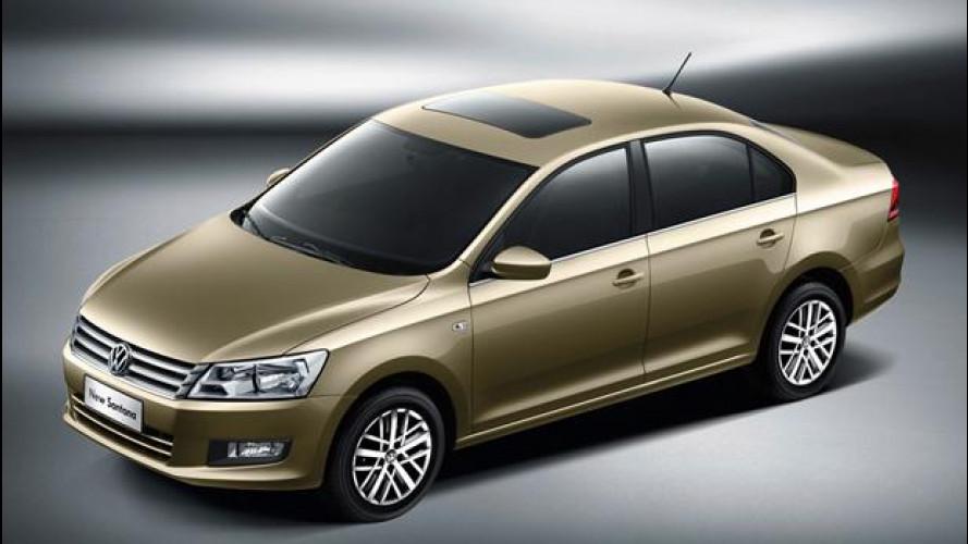 Nuova Volkswagen Santana