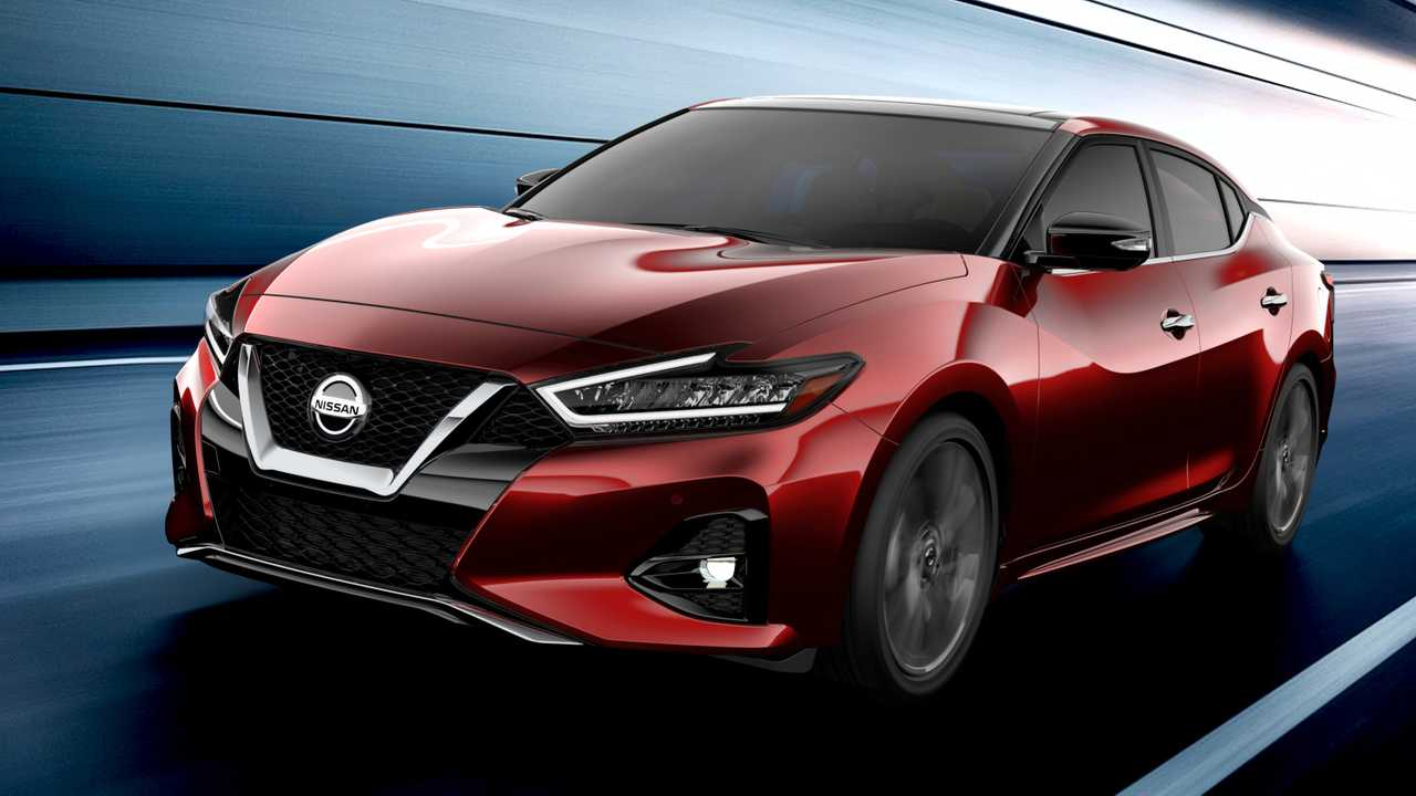 2019 Nissan Maxima (Facelift)
