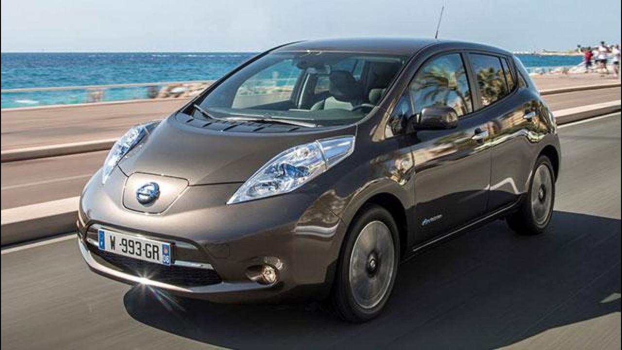 [Copertina] - Nissan Leaf 30 kWh, l'autonomia non fa più paura