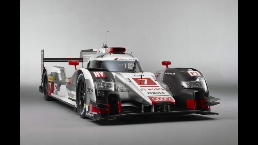Audi R18 e-tron quattro, l'arma ibrida per Le Mans