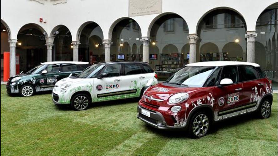 Expo Milano 2015, ci sono anche 10 Fiat 500 elettriche