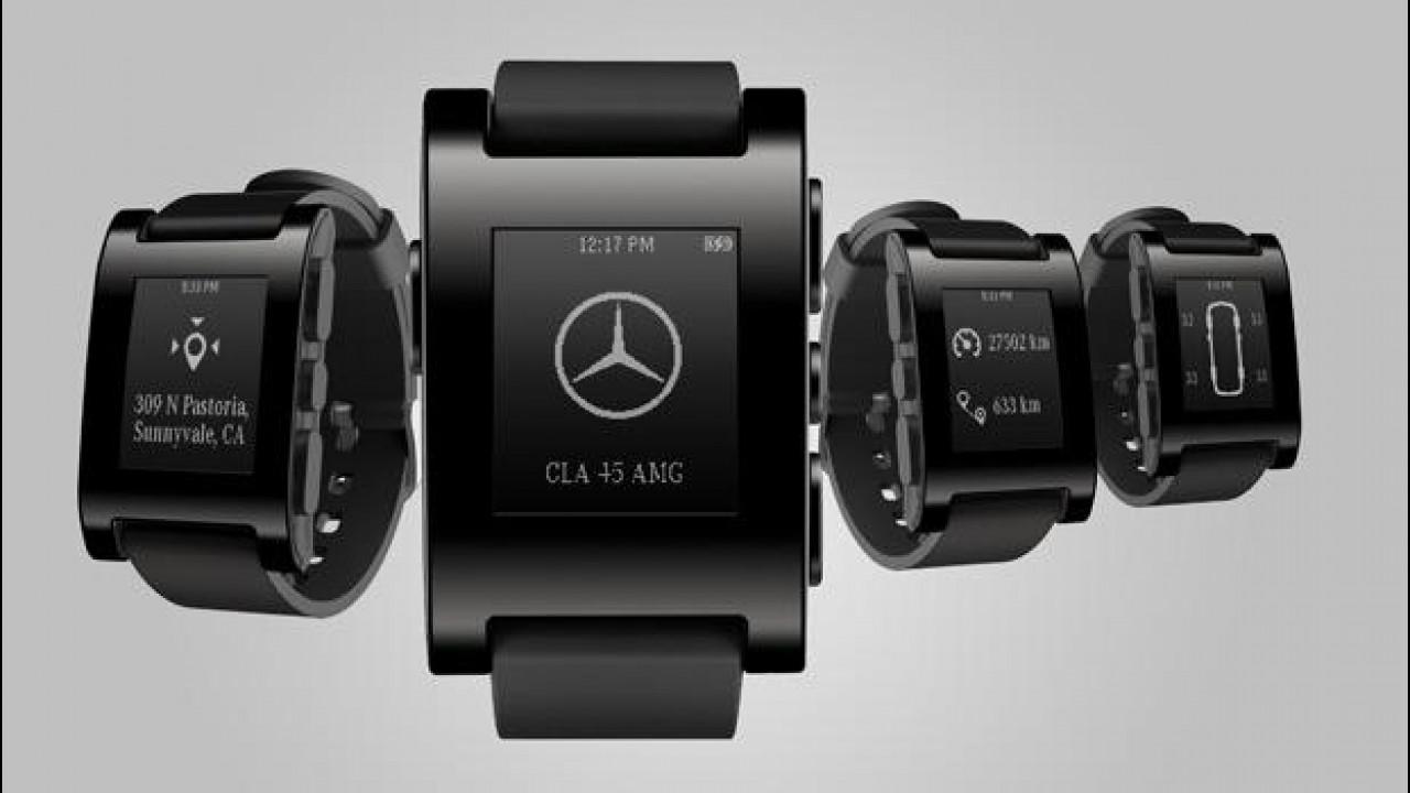 [Copertina] - Mercedes presenta l'orologio connesso all'auto