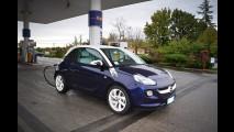 Opel Adam GPL Tech, la prova dei consumi