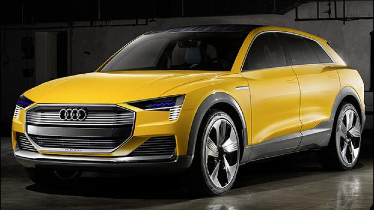 [Copertina] - Audi h-tron quattro concept, il SUV a idrogeno