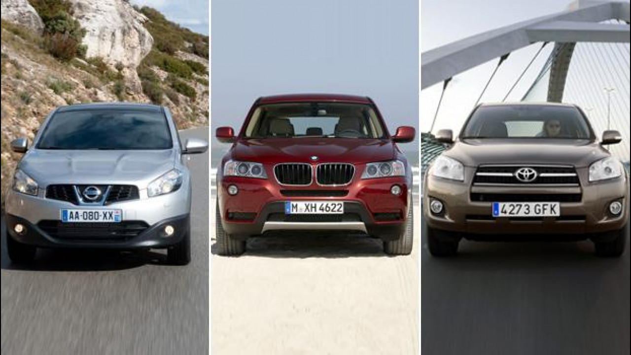 [Copertina] - Usato auto, i 10 SUV più venduti in Italia
