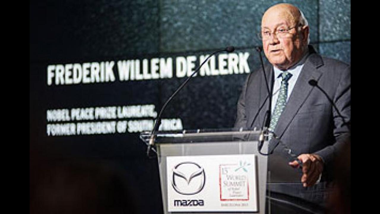 [Copertina] - Mazda, anche la MX-5 al Summit Mondiale dei Nobel per la Pace