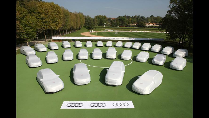 """Il """"Diavolo Rossonero"""" guida un'Audi"""