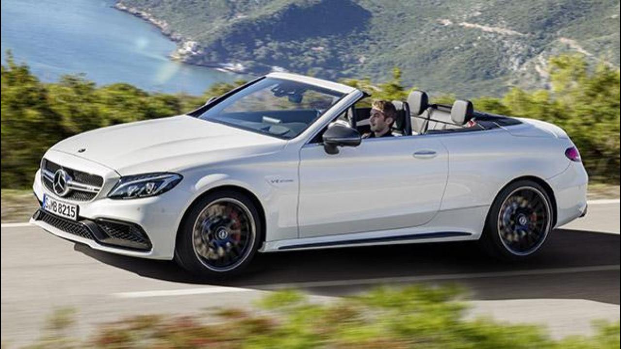 [Copertina] - Mercedes-AMG C 63 Cabrio, anche la scoperta diventa sportiva