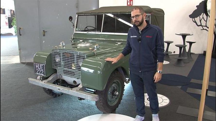 Auto e Moto d'Epoca, tempo di compleanni per Land Rover e Jaguar [VIDEO]