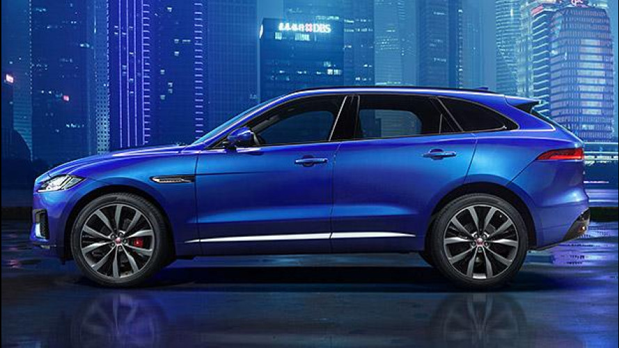 Jaguar F-Pace, prima foto e video