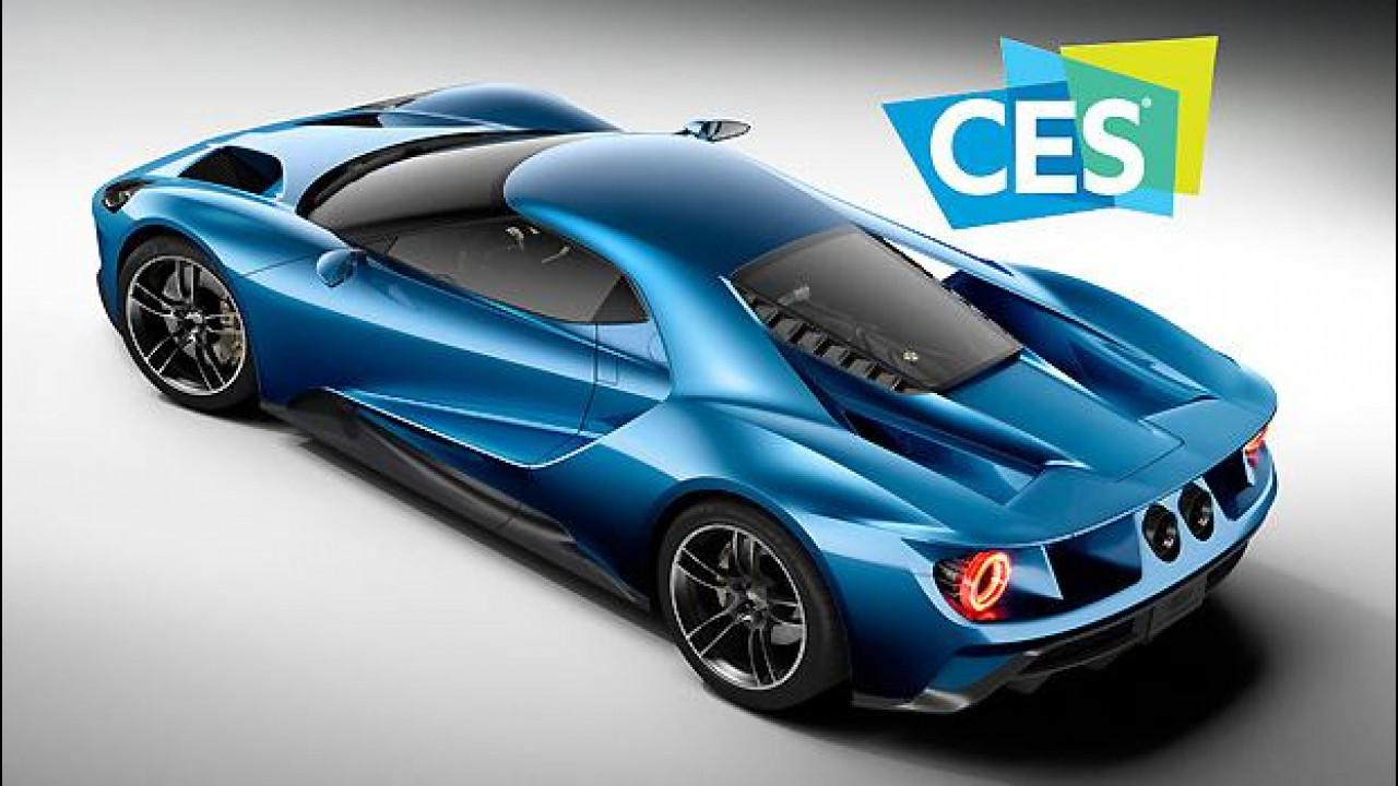 [Copertina] - La Ford GT è l'auto ufficiale del CES di Las Vegas