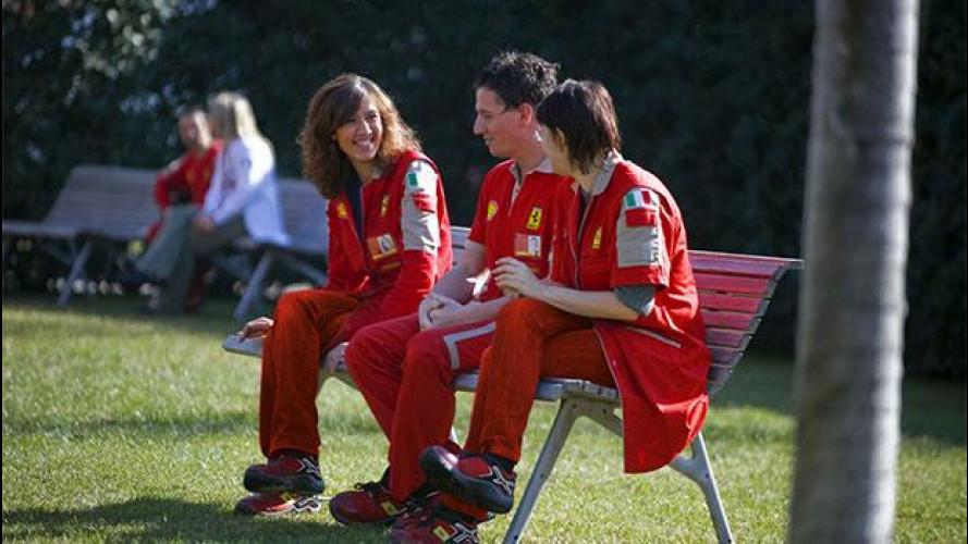 Tutti in fila per lavorare alla Ferrari