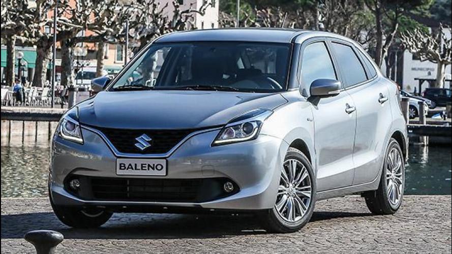 Suzuki Baleno 1.2 SHVS, a 14.600 euro è l'ibrida meno costosa