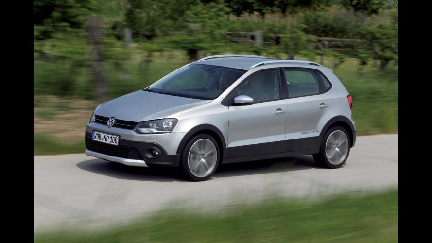 Volkswagen CrossPolo: la Polo per il tempo libero si aggiorna