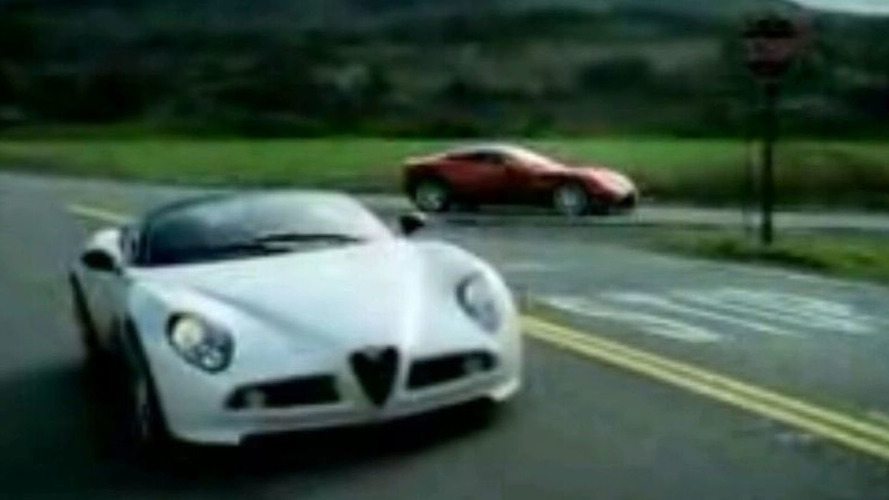 Alfa Romeo Releases Video of 8C Spider in Motion