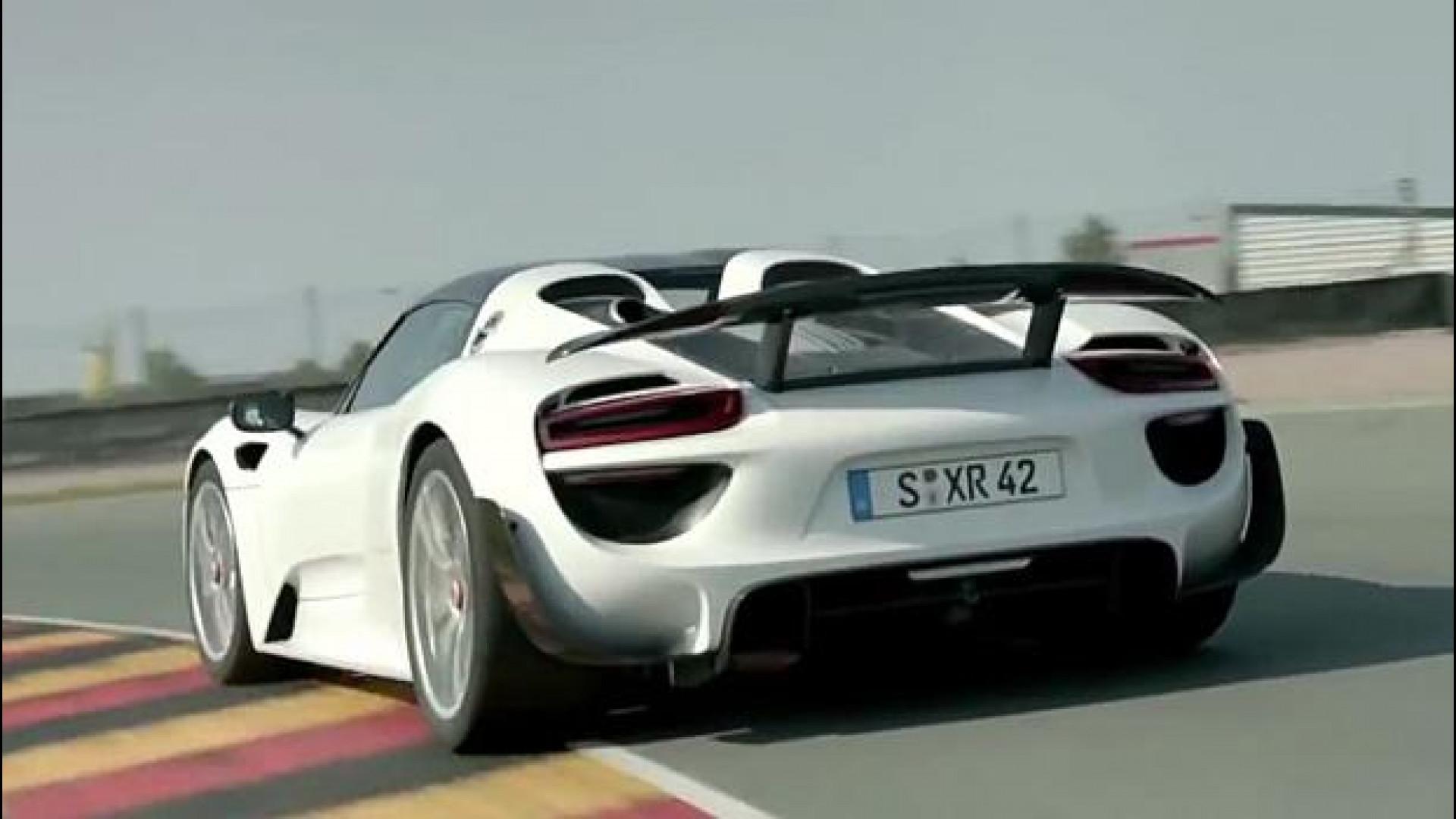 Porsche 918 Spyder Il Canto Dell Ibrida Video