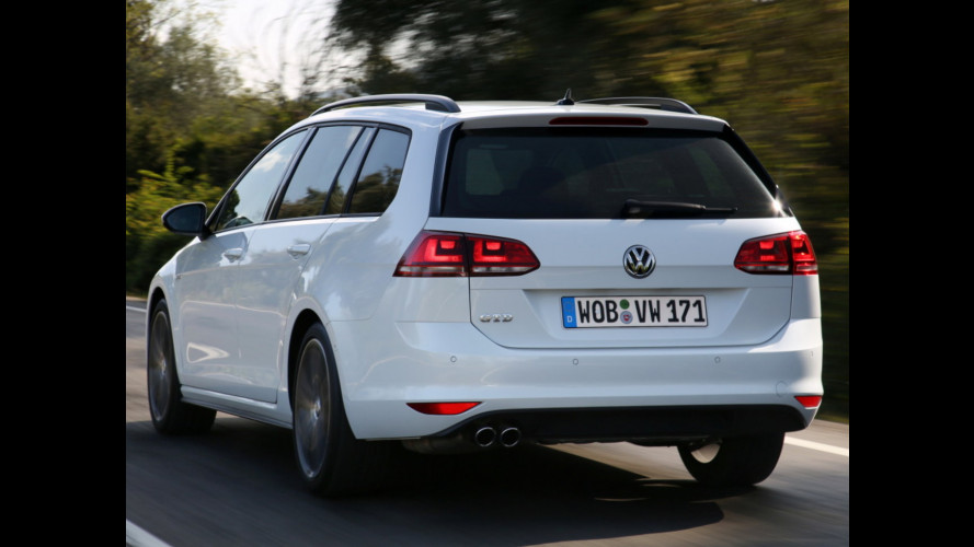 Volkswagen Golf Variant GTD e R, familiari a tutto gas
