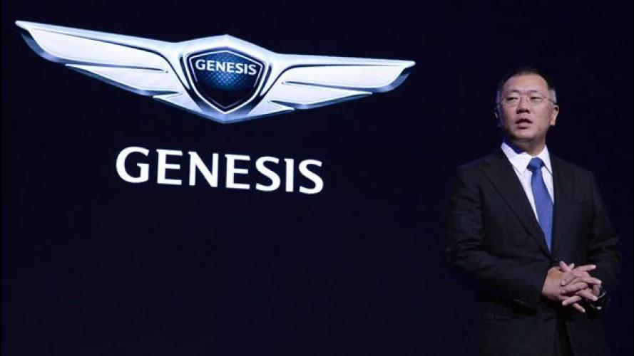 """""""Genesis"""" è il nuovo marchio globale di lusso Hyundai"""