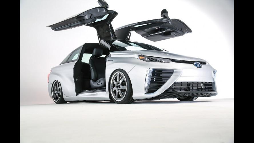 Toyota Mirai, Ritorno al Futuro con tuning [VIDEO]