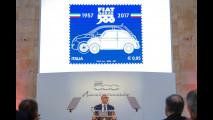 Fiat 500, il francobollo per i suoi 60 anni