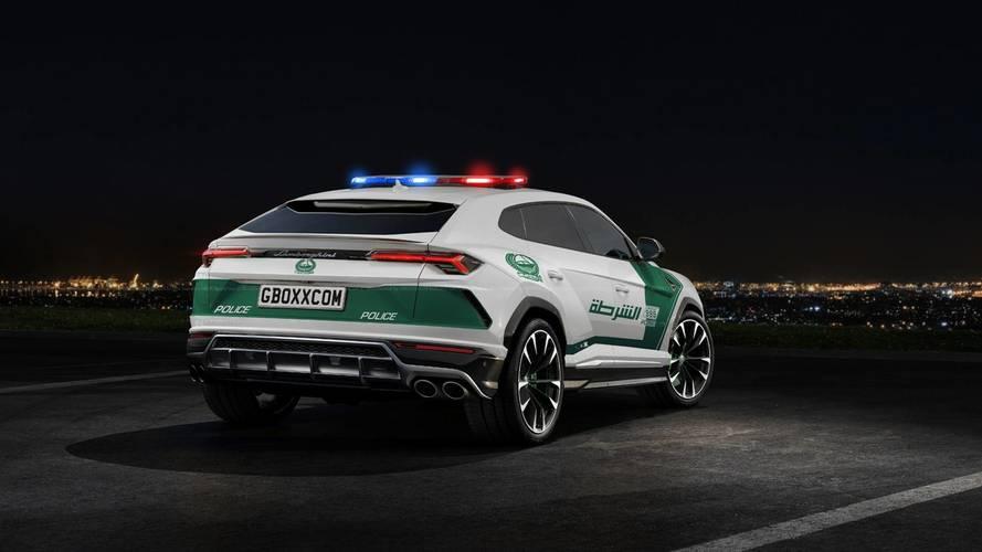 Lamborghini Urus - Dubai Rendőrség