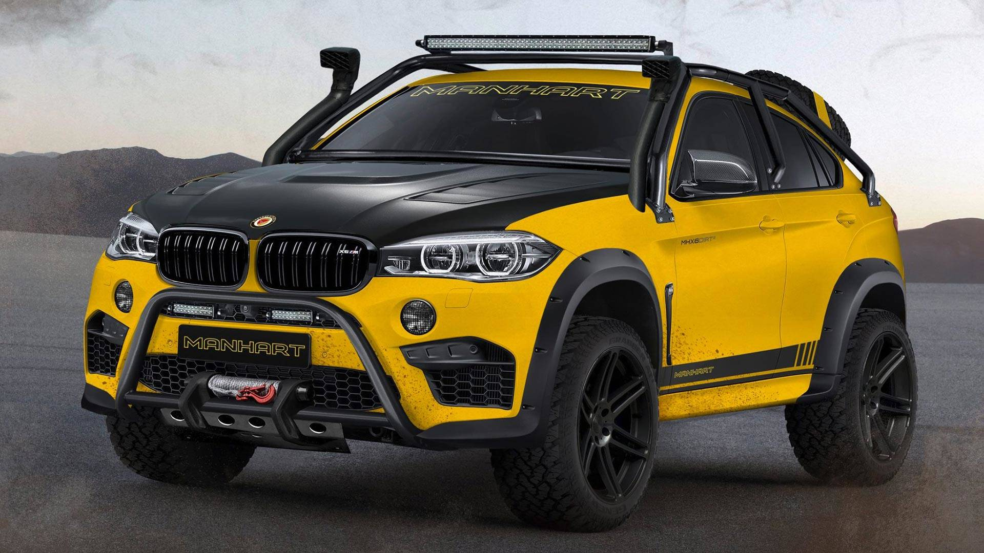 Manhart Mhx6 Dirt Is A 888 Hp Bmw X6 M Not Afraid To Get Dirty