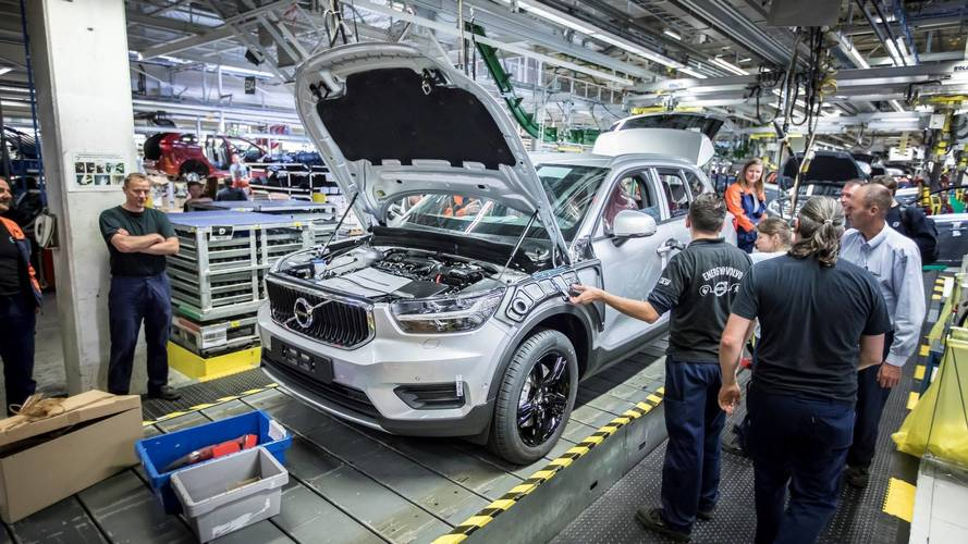Volvo lance la production de son XC40