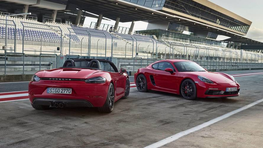 Porsche 718 Cayman GTS / 718 Boxster GTS