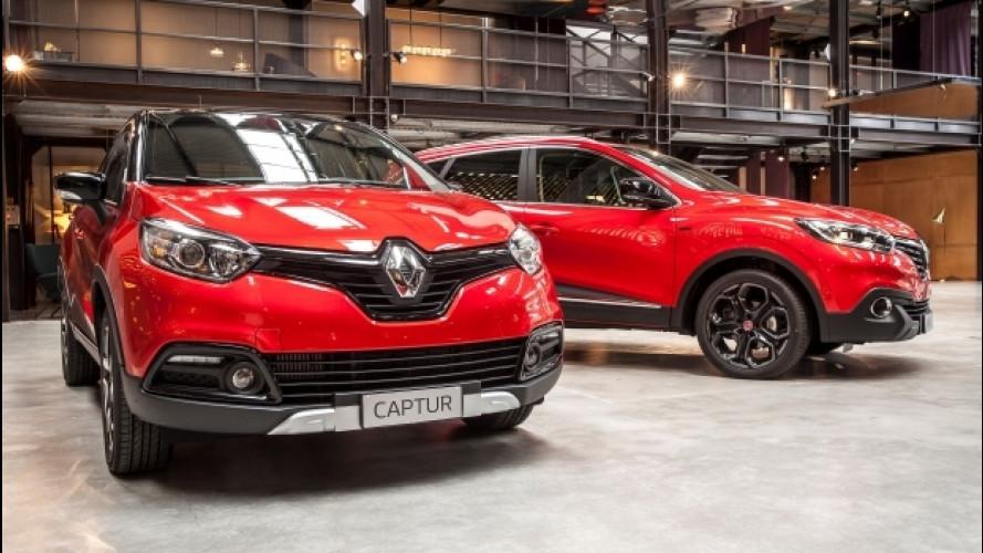 Renault Captur e Kadjar Hypnotic, la forza del bicolore