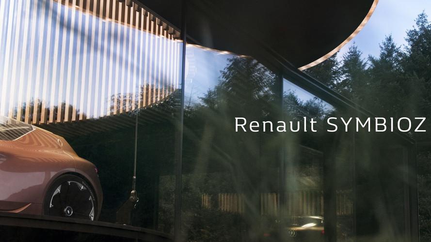 Renault Symbioz, il prototipo integrato con l'ambiente esterno