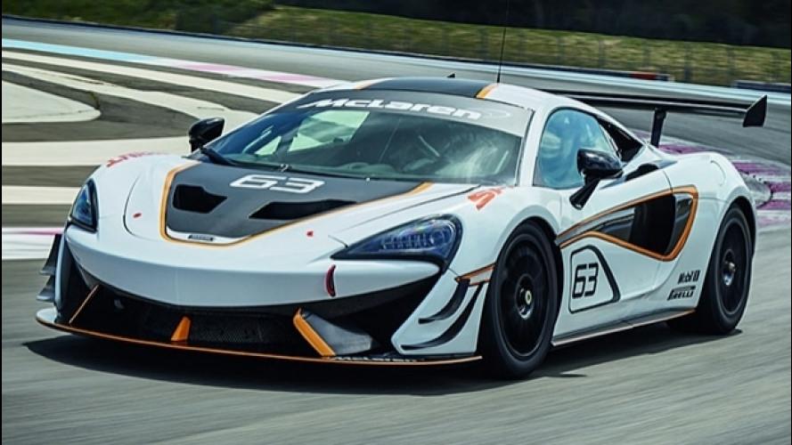 McLaren 570S Sprint, da godere in pista