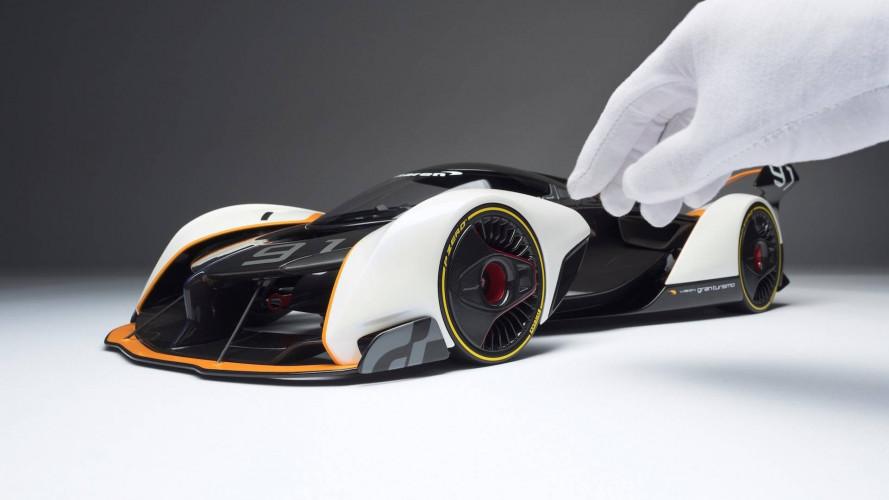 McLaren Ultimate Vision GT, il modellino firmato Amalgam