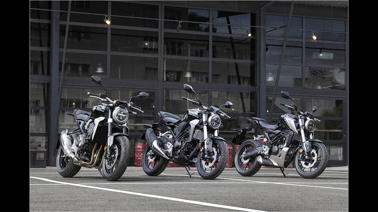 Honda CB-Modelle