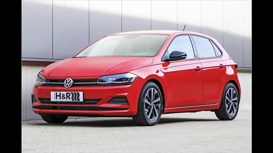 H&R-Sportfedern für den VW Polo