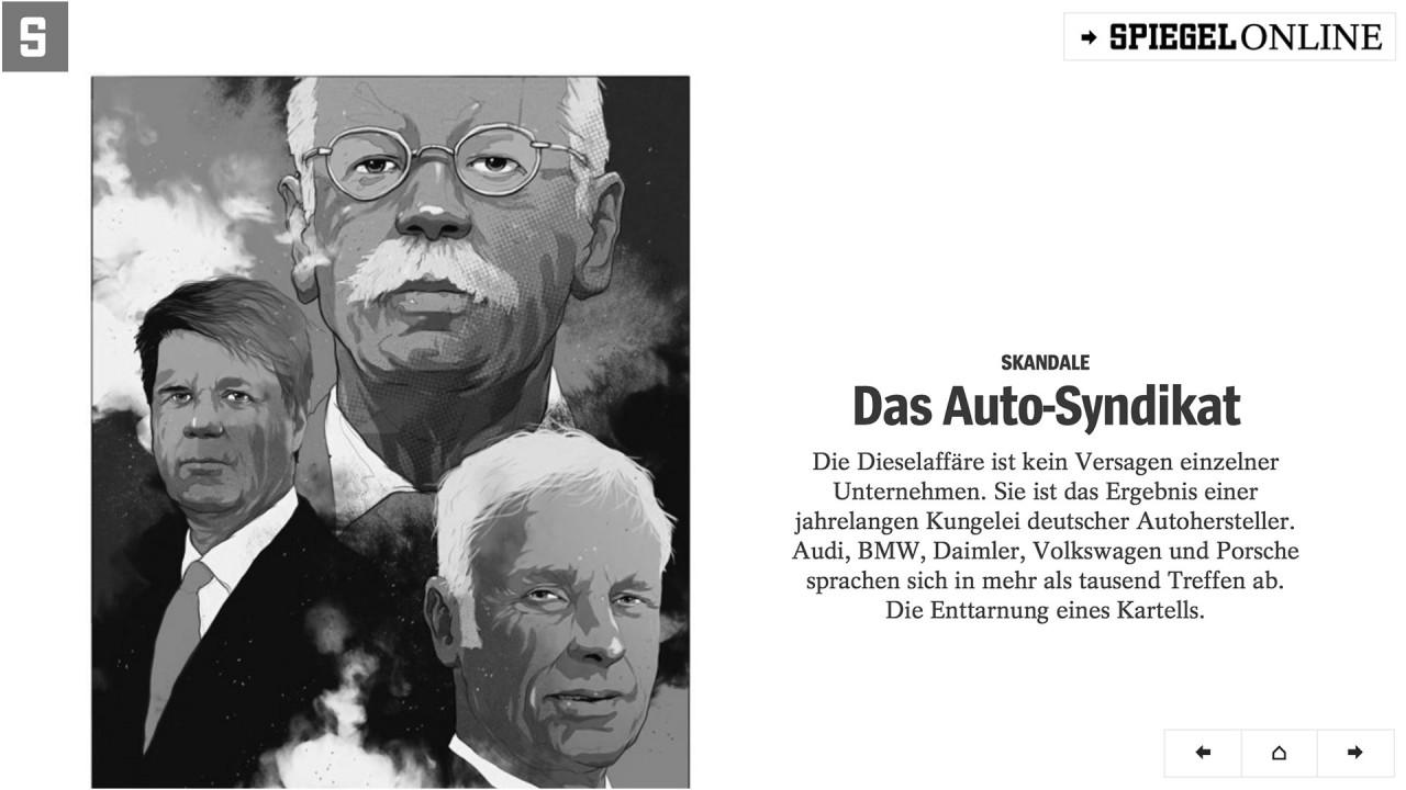 [Copertina] - Der Spiegel: c'è un cartello fra le case automobilistiche tedesche