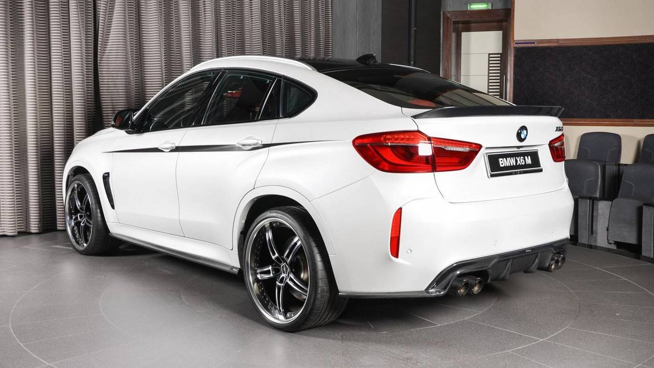 Bmw X6 M With 23 Inch Wheels Makes The Urus Look Restrained