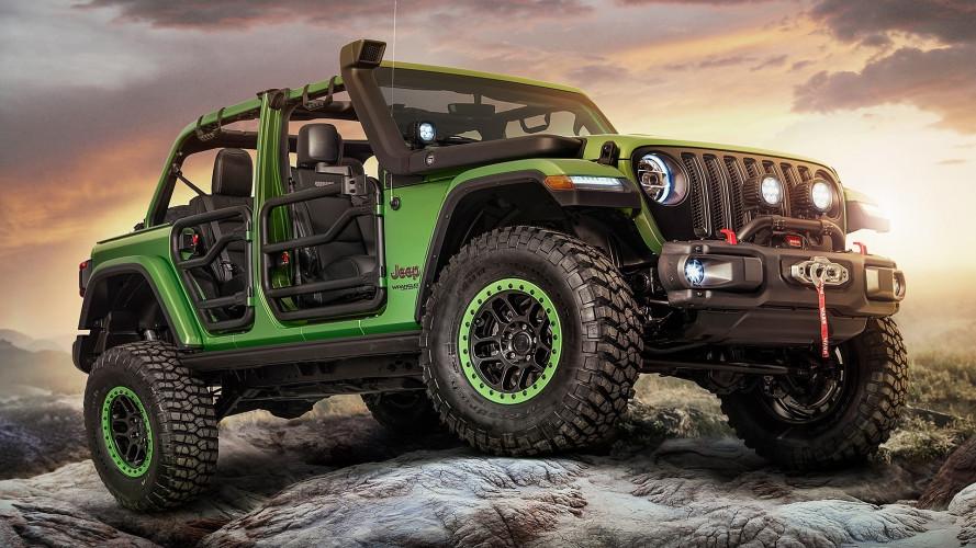 Jeep Wrangler, con gli accessori della Mopar va ovunque