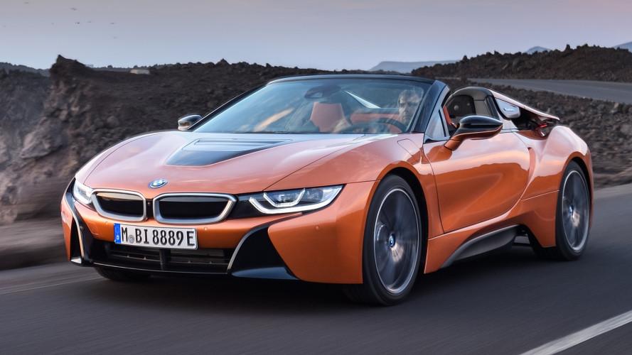 BMW i8 Roadster, una scoperta elettrizzante a Los Angeles