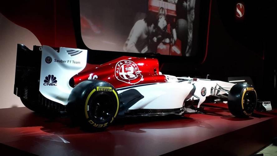 La decoración del Alfa Romeo Sauber: muy Alfa Romeo y muy poco Sauber