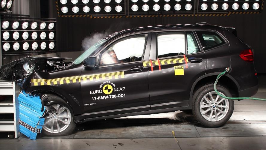 Crash Test Euro NCAP, tutte a 5 stelle tranne una