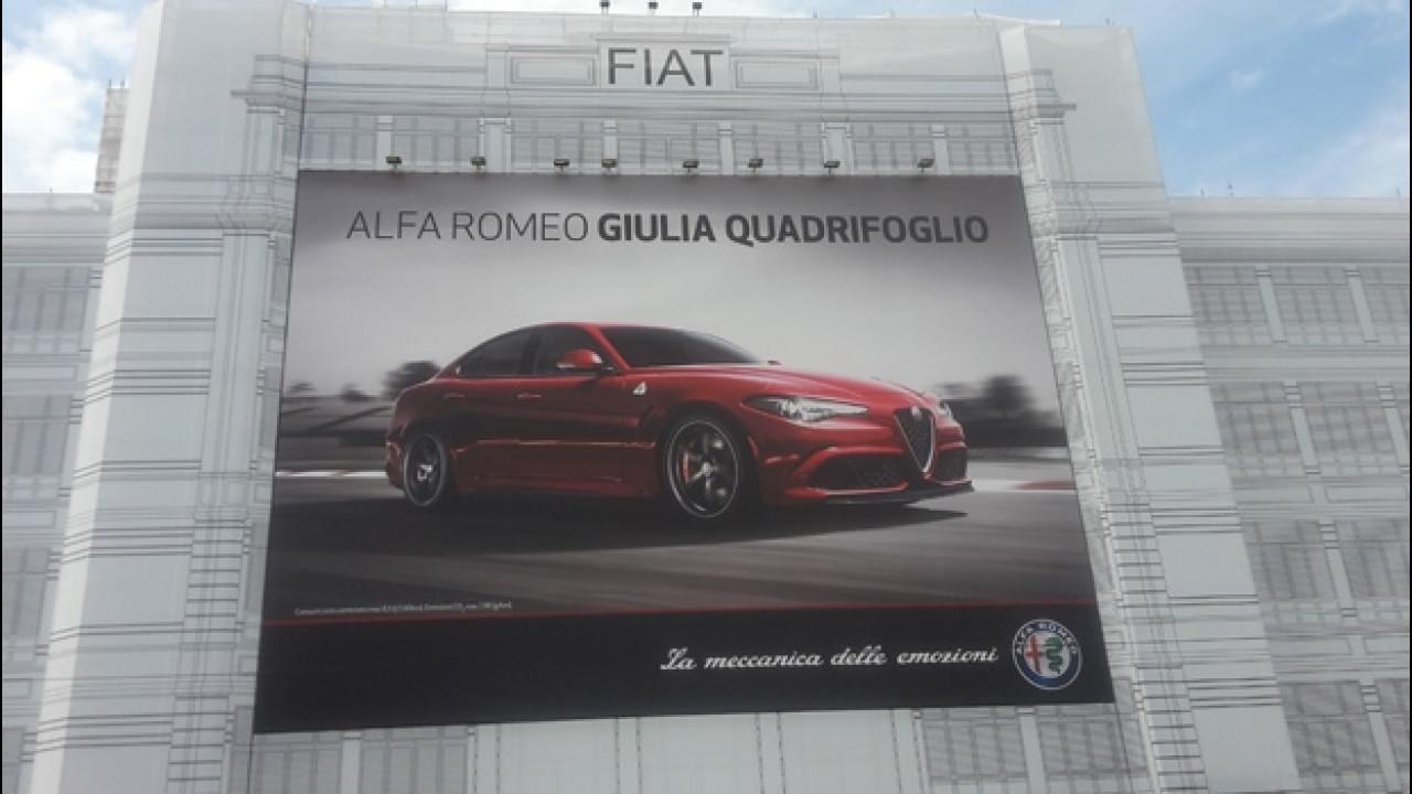 [Copertina] - Alfa Romeo Giulia sul Lingotto di Torino