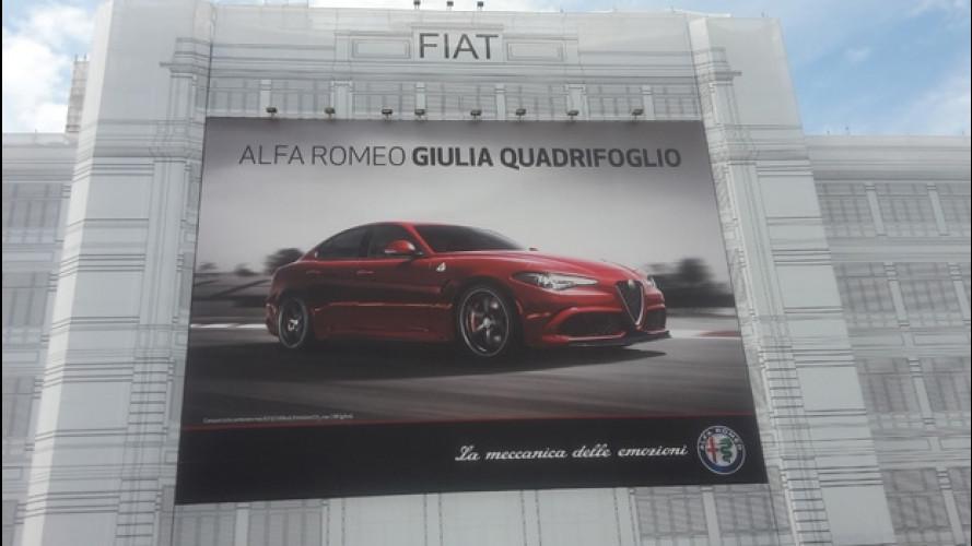 Alfa Romeo Giulia sul Lingotto di Torino