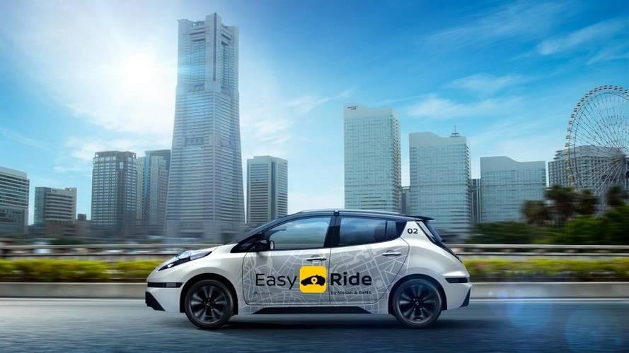 Nissan yeni robot taksi sistemini duyurdu
